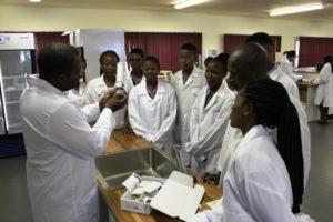 Good Shepherd College Science Lab